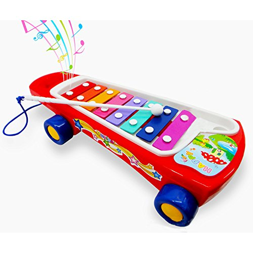 [Sealive 1pc Baby Kids Educational Musical Instrument Toy Kids Push Pull Toys Early Learning Violin Toy Best Gifts For Preschool Kids Students(Random Color)] (Homemade Halloween Gifts For Students)