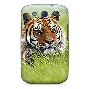 lintao diy ChItUOc6659mXlOj Anti-scratch Case Cover WilliamMorrisNelson Protective Amazing Siberian Tiger Case For Galaxy S3