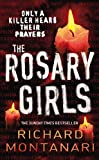 Front cover for the book The Rosary Girls by Richard Montanari