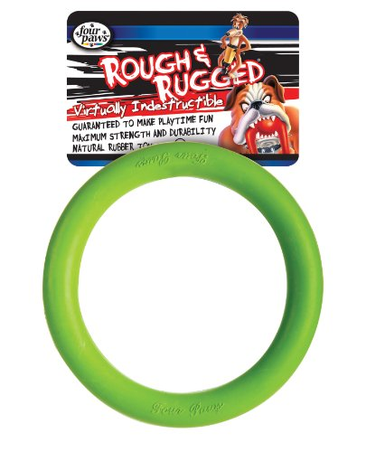 Four Paws 7-Inch Rough and Rugged Ring Toy for Dogs, My Pet Supplies