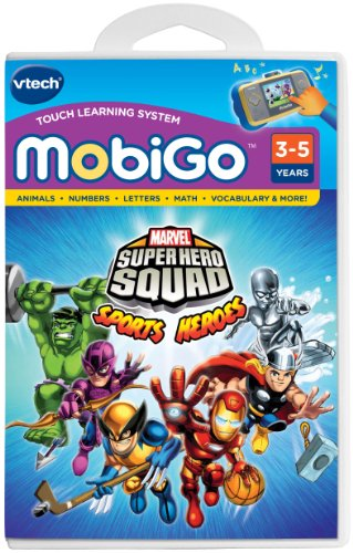 VTech - MobiGo Software - Super Hero Squad