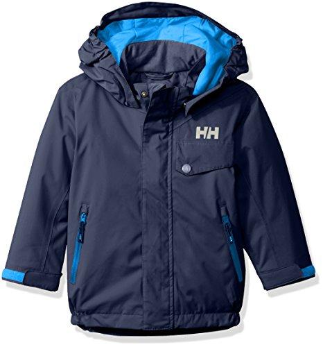 (Helly Hansen Kids Rider Insulated Jacket, Evening Blue, Size 8)