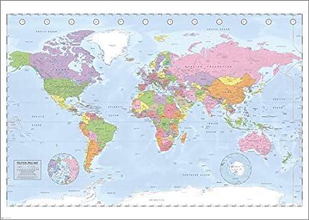 Immagini Cartina Geografica Del Mondo.Cammello In Breve Correre Mappa Del Mondo Gigante Amazon Settimanaciclisticalombarda It