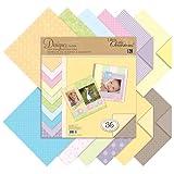 K & Company 30-588707 Pastels Designer Paper Pad