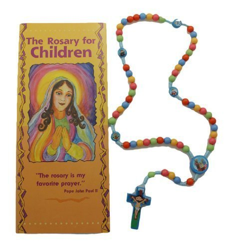 Rosary Beads For Kids - Child Saints Rosary with How to