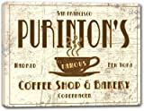 """PURINTON'S Coffee Shop & Bakery Stretched Canvas Print 16"""" x 20"""""""