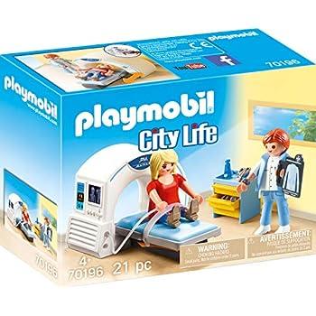 Amazon.com: Playmobil Doctor Specialist Radiologist 70196 ...