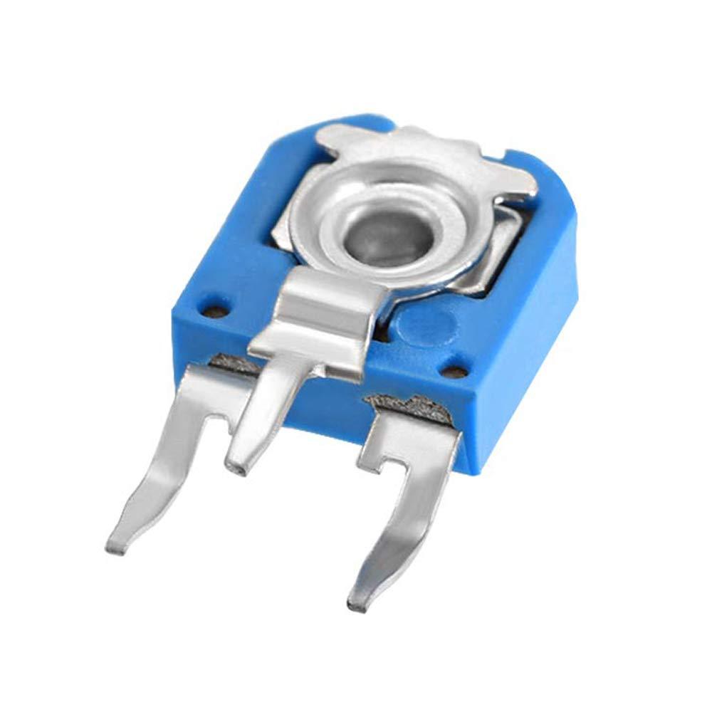 100Pcs Resistor Trimmer Toolkitworld 100K Ohm 104 Blue Variable Resistor Trimmer Potentiometer