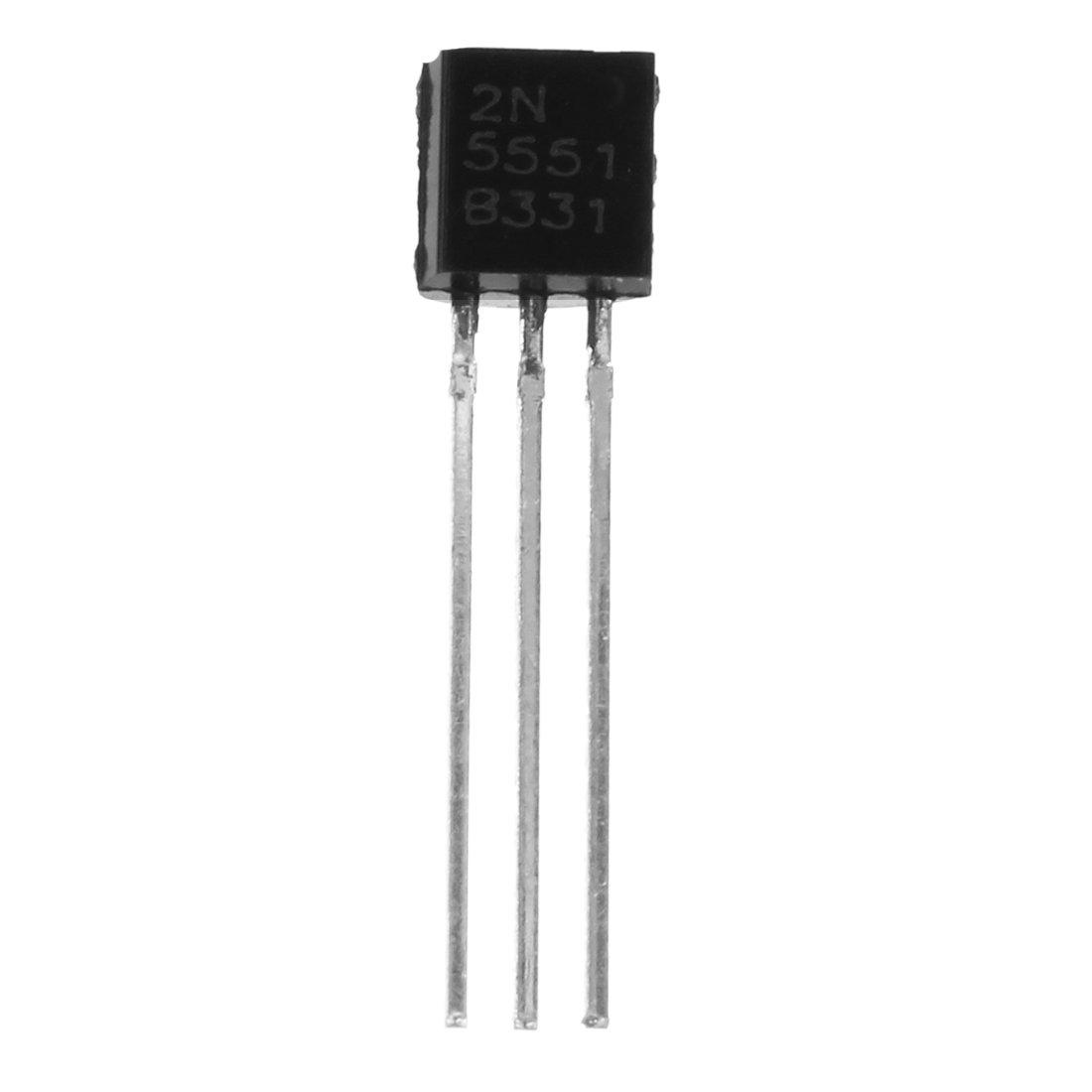 R 100 Stueck 2N5551 Durch das Loch NPN-Transistoren SODIAL