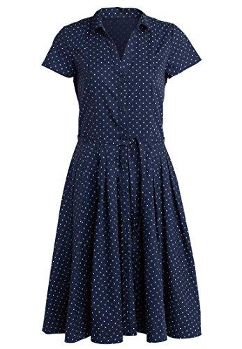 full skirt shirtwaist dress - 1