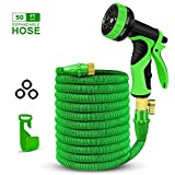 2018 Upgraded Expandable Garden Hose,Best 50 Ft Flexible Review and Comparison