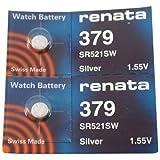 #379 Renata Watch Batteries 2Pcs