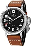 Image of Zenith Pilot Automatic Black Dial Leather Strap Mens Watch 03.2430.693/21.C723