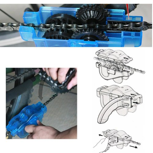 Anndeeson Bicycle Chain Cleaner Bike Lubricant Machine