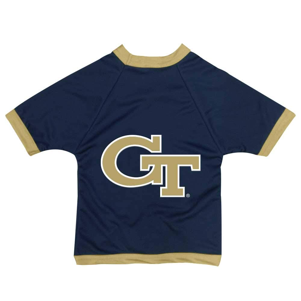 XX-Large All Star Dogs Georgia Tech Yellow Jackets Athletic Mesh Dog Jersey (Team color, XX-Large)