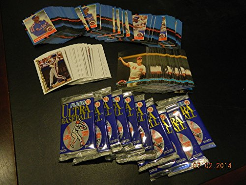 400 Card Lot Strawberry,Gooden,Dibble,Johnson 10 Packs 1991 Fleer Ultra Baseball