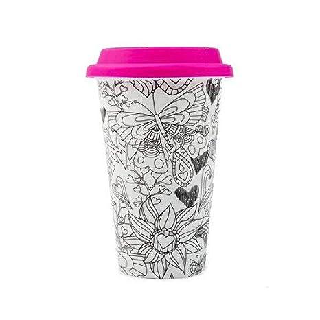 Amazon.com: Color Joy No soy un Taza, Viajes Café Taza de ...