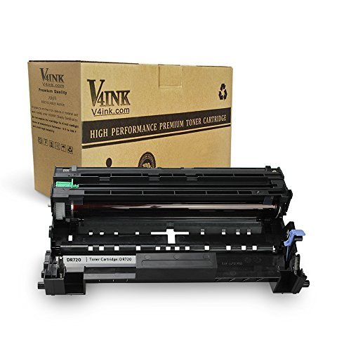 V4INK Compatible Drum Replacement for Brother DR720 DR-720 Drum Using with Brother hl-5470dw hl-5470dwt mfc-8710dw mfc-8950dw mfc-8910dw dcp-8110dn dcp-8150dn Printer