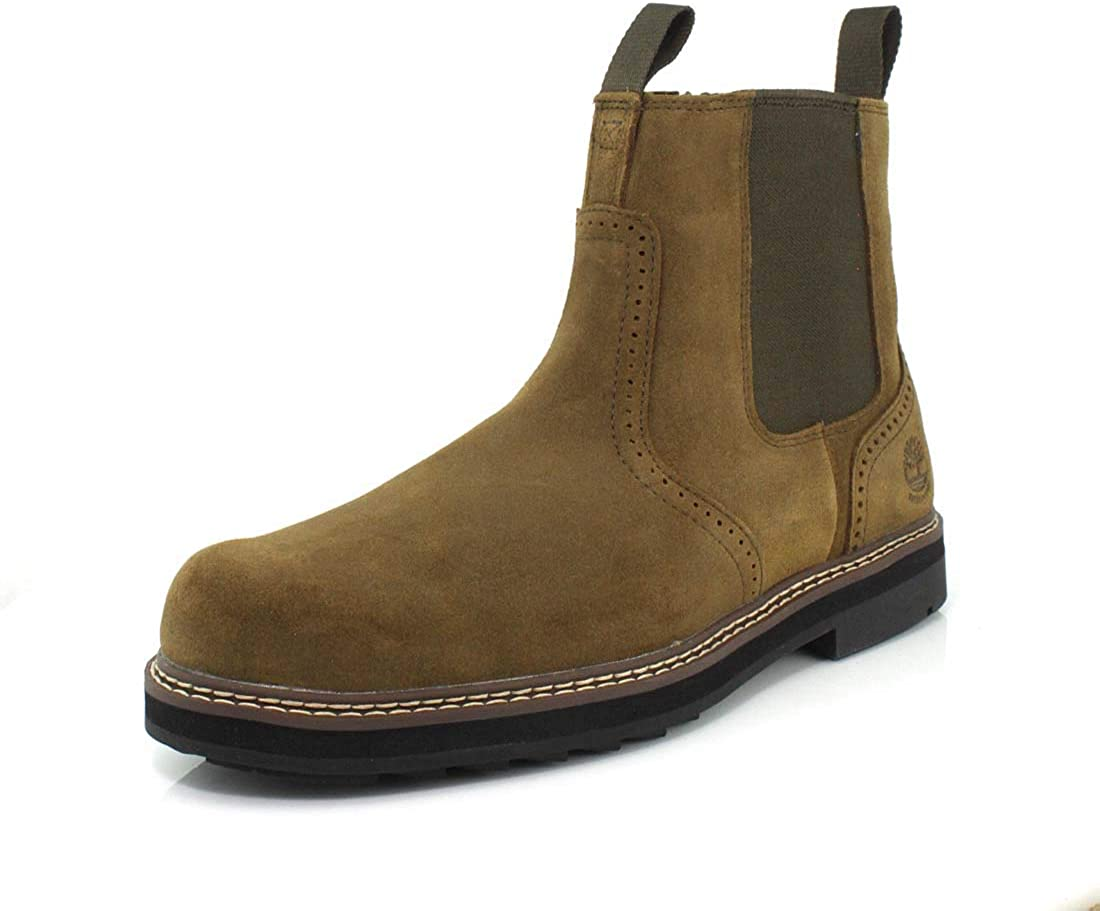 Timberland Mens Chelsea Boots Olive