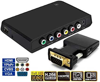 HDMI DVI VGA Component Video Digital Recorder With MPEG Editor Software