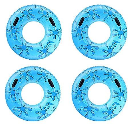 Bestway Hinchable Flotador (con Asas, 107 cm, Color Azul: Amazon.es: Juguetes y juegos