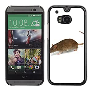 Super Stellar Slim PC Hard Case Cover Skin Armor Shell Portection //Mouse V0000284// HTC ONE M8