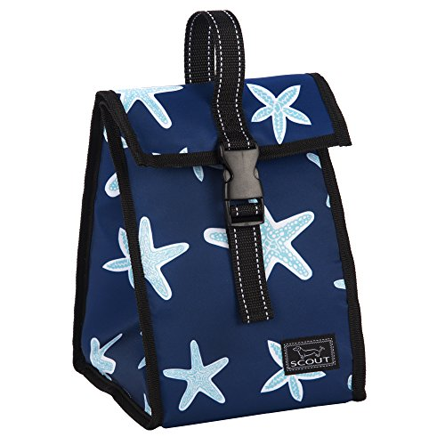 Star Lunch Box (SCOUT Doggie Bag Insulated Lunch Box & Soft Cooler, PVC-free, Water Resistant, Fish Upon a Star)