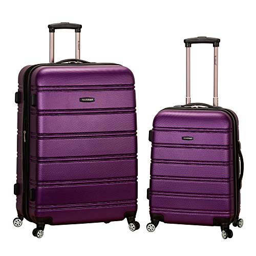 Rockland Luggage 20 Inch 28 Inch 2 Piece Expandable Spinner...