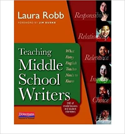 [(Teaching Middle School Writers: What Every English Teacher Needs to Know)] [Author: Laura Robb] published on (March, 2010)