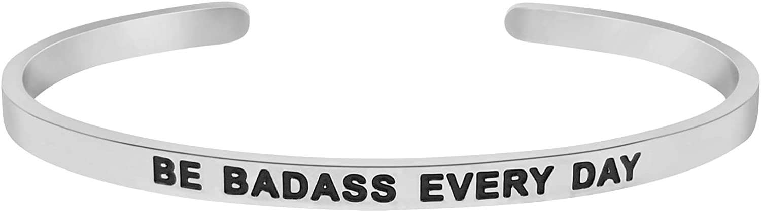 'Be Badass Every Day''...