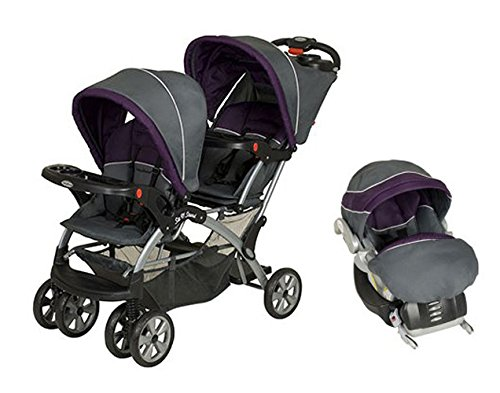 BABY TREND Sit N Stand Double Travel System – Elixer