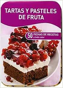 TARTAS Y PASTELES DE FRUTA (CAJAS DE RECETAS) (NUEVA ED.): NGV