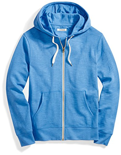 Blue Zip Hoodie (Goodthreads Men's French Terry Full-Zip Hoodie, Blue Calm, Large)