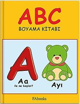 Abc Boyama Kitabi Fatos Ayvaz Kolektif 9786059219167 Amazoncom