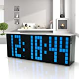 HOMEE Clock-multi function led alarm clock simple creative alarm clock personal digital bedside alarm clock,N