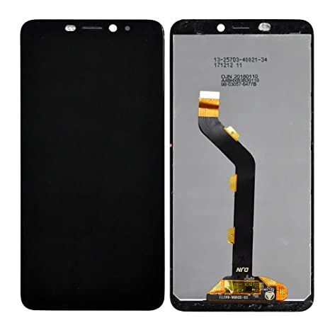 YuvKuz (TM) - LCD Display with Touch Screen Digitizer Assembly for Infinix  Hot S3 X573 (Black)
