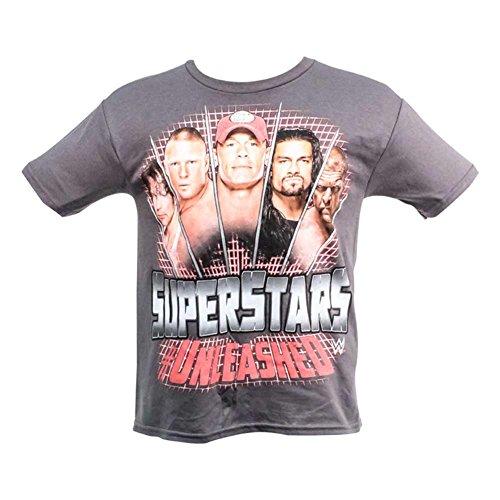 WWE Superstars Unleashed Kids Size Large T-Shirt (844)