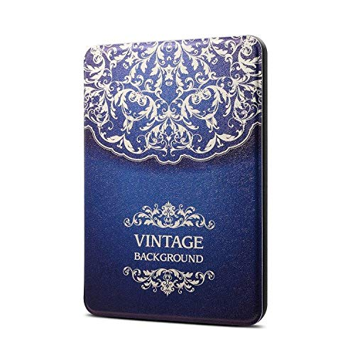 Capa Estampada Novo Kindle 2019 10ª geração - Fecho Magnético (Vintage)