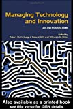 img - for Managing Technology and Innovation: An Introduction by Robert M. Verburg (2005-12-18) book / textbook / text book