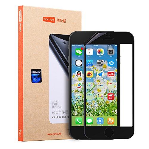 iPhone 6S Plus Screen Protector, TORRAS [Spirit Series] HD Anti-fingerprint Tempered Glass with Easy Align Frame for iPhone 6S Plus/ iPhone 6 Plus (5.5 inch)- Black