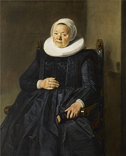 Oil Painting 'Frans Hals - Portrait Of A Woman, 1635', 12 x 15 inch / 30 x 38 cm , on High Definition HD canvas prints is for Gifts And Basement, Home Office And Nursery Decoration, pop