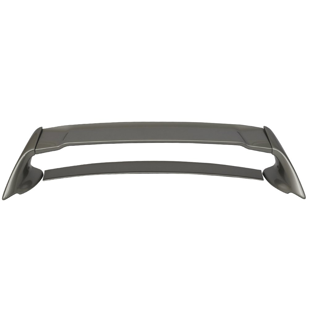 ABS Painted #NH700M Alabaster Silver Metallic Trunk Boot Lip Spoiler Wing Deck Lid Other Color Available By IKON MOTORSPORTS 2007 Pre-painted Trunk Spoiler Fits 2006-2011 Honda Civic
