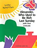 Alexander, Who Used to Be Rich Last Sunday, Garrett Christopher, 0767503236