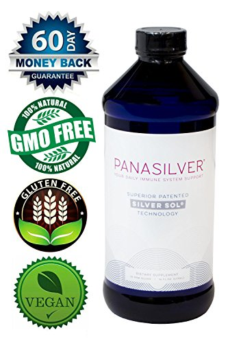 Activation Products, Panasilver, Silver Sol, Superior Immune System Support, Silver 10 PPM, 16 ounces