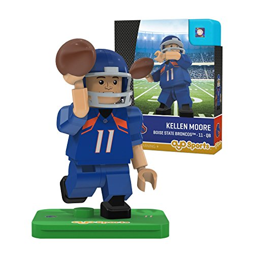 NCAA Boise State Broncos Kellen Moore Gen 2 Player Mini Figure, Small, Black