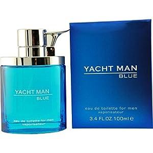 Yacht Man Blue By Puig Eau-de-toilette Spray, 3.4 Ounce from Camrose Trading Inc. DBA Fragrance Express - DROPSHIP