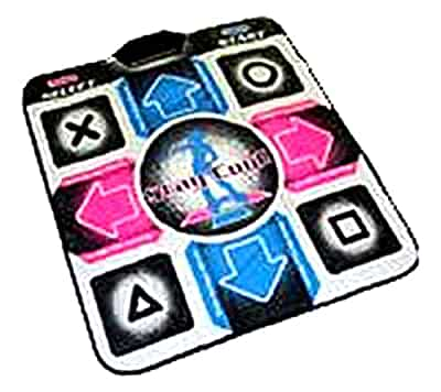 Amazon Com Playstation 2 Ddr Dance Pad Video Games