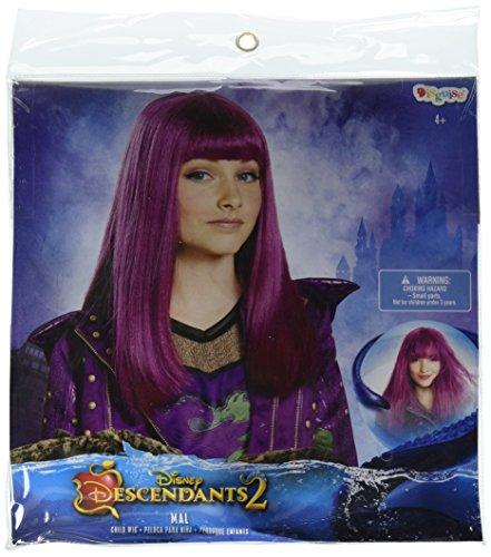 Pixie Wig Costume (Disney Mal Descendants 2 Wig, One Size)