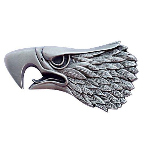 Screaming Eagle Head Belt Buckle 03-R70 IMC-Retail (Eagle Metal Belt Buckle)