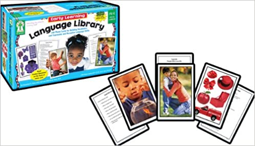 K Grades Pk Early Learning Language Library Learning Cards